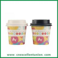 Buy cheap Paper Cup & Plastic PET/PP Cup EX-PC-035 Popular Design Single Wall Paper Cup Coffee Cup from wholesalers