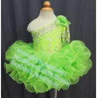Buy cheap Half Sleeve Green Lace Baby Dress G115 from wholesalers