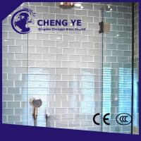Buy cheap Factory Price 10mm Excellence Quality Toughened Tempered Glass For Door from wholesalers