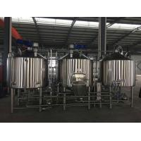 Buy cheap Beer Brewing Machine Beer Brewery System Beer Equipment from wholesalers