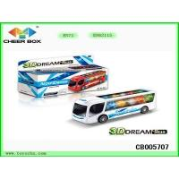 Buy cheap Boy Toys 3D Dream Light Bus For Kids Gift from wholesalers
