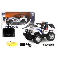 Buy cheap Boy Toys RC Jeep police car from wholesalers