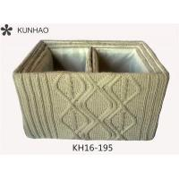 S/4 Knitting Yarn Crocheted Storage Box, High Quality Crocheted Storage Box