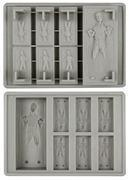 Buy cheap Accessories Ice Cube Tray: Star Wars Han Solo in Carbonite Gray Silicon 9014219 from wholesalers