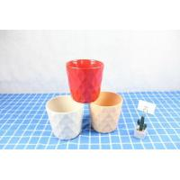 Buy cheap Color Glazed Ceramic Flower Pot from wholesalers