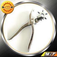 Buy cheap Improvement Leather Hole Punch Pliers 9 inch with Multi-size Rotating Wheel from wholesalers