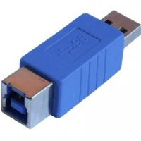 USB3.0 Type A Male to B Female Printer Connector Adapter