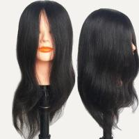 Buy cheap 100 human hair mannequin head WCA101218 from wholesalers