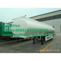 Buy cheap White color tank trailer of fuel sinotruk from wholesalers