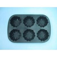 Kitchenware Silicone 6 cups Sunflower Pan