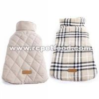 Buy cheap Reversible British style Plaid Dog Vest Winter Coat from wholesalers