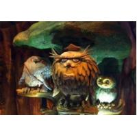 Simulate animals and insects Moving animatronic owl