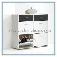 Buy cheap 4 Drawer Shoe Cabinet Footwear Stand Rack Wooden Unit shoe cabinet from wholesalers