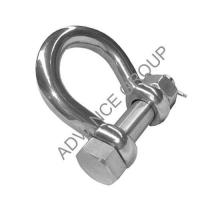 Stainless Steel Hardware Series Product name:Stainless Steel D Shackle with E Type Safety Pin
