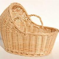 Buy cheap wicker baby basket from wholesalers