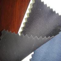Buy cheap twill pattern artificial pvc calendering leather supplier in China from wholesalers