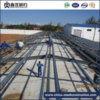 Buy cheap Galvanized Prefabricated Steel Construction for Poultry House from wholesalers