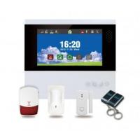 Buy cheap Burglar Alarm Products 7 Inch Touch screen GSM alarm system from wholesalers