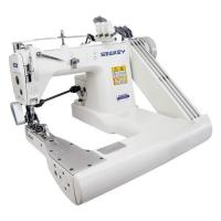 Buy cheap Three Needles Feed Off the Arm Chainstitch Sewing Machine with Gear-box Puller from wholesalers
