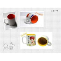 Buy cheap Sublimationmugs 11oz inner color sublimation mug from wholesalers