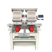 Buy cheap HB-1202 industrial sale price flat hat 2 head commercial embroidery machine from wholesalers