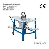 Buy cheap Woodworking Single Phase 12 inch Table Saw from wholesalers