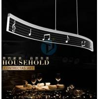 Buy cheap Office Lighting Fixtures Creative Music Note Acrylic Ceiling Lights from wholesalers