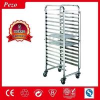 Buy cheap Catering Equipment PEZO hotel stainless steel kitchen food trolley from wholesalers