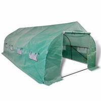 Buy cheap Low Cost Garden Walk in Tunnel polytunnel Greenhouse Kit for sale from wholesalers