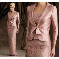 Buy cheap Free Jacket Mother of The Bride Groom Dress Long Sleeves Women Formal Occasion Outfit Suit 2017 from wholesalers