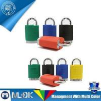 Buy cheap MOK @ W202/202L short shackle & long shackle padlock blue padlock from wholesalers