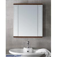 Joseph Wooden Bathroom Lighted Mirror Cabinet