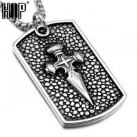 Buy cheap Pendant Necklaces Dog Tag Cross Necklace from wholesalers