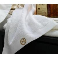 Buy cheap Hotel Linen Luxury Hotel Style White Bath Towel Sheet from wholesalers