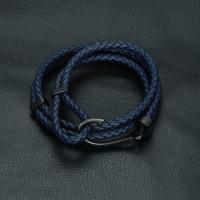 Buy cheap Bracelets and Bangles Leather Fish Hook Bracelet from wholesalers