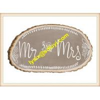 Buy cheap Decor Rustic Weddings Wooden Slice from wholesalers