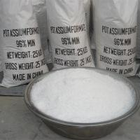 Buy cheap Chemicals Potassium Formate solid 97% from wholesalers