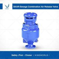 Buy cheap ISO Sewage Combination Automatic Air Release Valve with Flange Connection from wholesalers