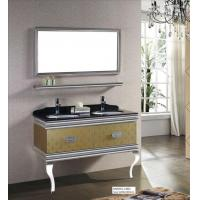 Buy cheap Waterproof And Rust-free 304 Stainless Steel Bathroom Mirror Cabinet With Light from wholesalers