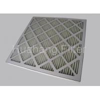 Buy cheap Pre Filter G4 Pleated Panel Air Filter 597 X 597 X 97 Manufacturer from wholesalers