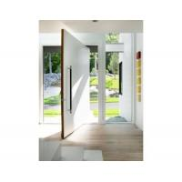 Buy cheap Large wooden interior pivot door design from wholesalers