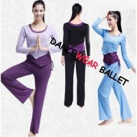 Buy cheap I-Shaped Back Drawstring Dance Wear Top Bra And Pants from wholesalers