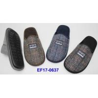 Buy cheap Men winter checker indoor slippers Item No.: EF17-0637 from wholesalers