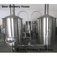 Buy cheap Stainless Steel SUS 304 Mash Tun & Lautering Tun Brew Kettle & Whirlpool Tank 100-2000l from wholesalers