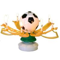 Buy cheap Soccer Ball Musical Birthday Candles from wholesalers