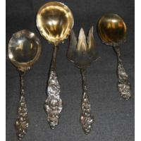Buy cheap 4 REED & BARTON STERLING SILVER SERVING PIECES from wholesalers