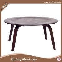 Buy cheap Coffee Table Cheap Round Wood Modern Coffee Table For Sale from wholesalers