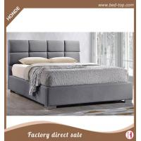Buy cheap Fabric Bed Modern Simple Fabric Upholstered Queen Size Bed from wholesalers