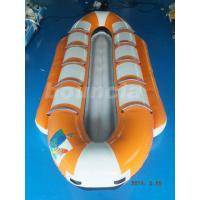 Buy cheap Orange Color Inflatable Banana Boat, Towable Water Boat For Summer Activity from wholesalers