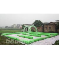 Buy cheap Inflatable Zorb Ball Track , Zorb Orbit With 0.6mm PVC Tarpaulin from wholesalers